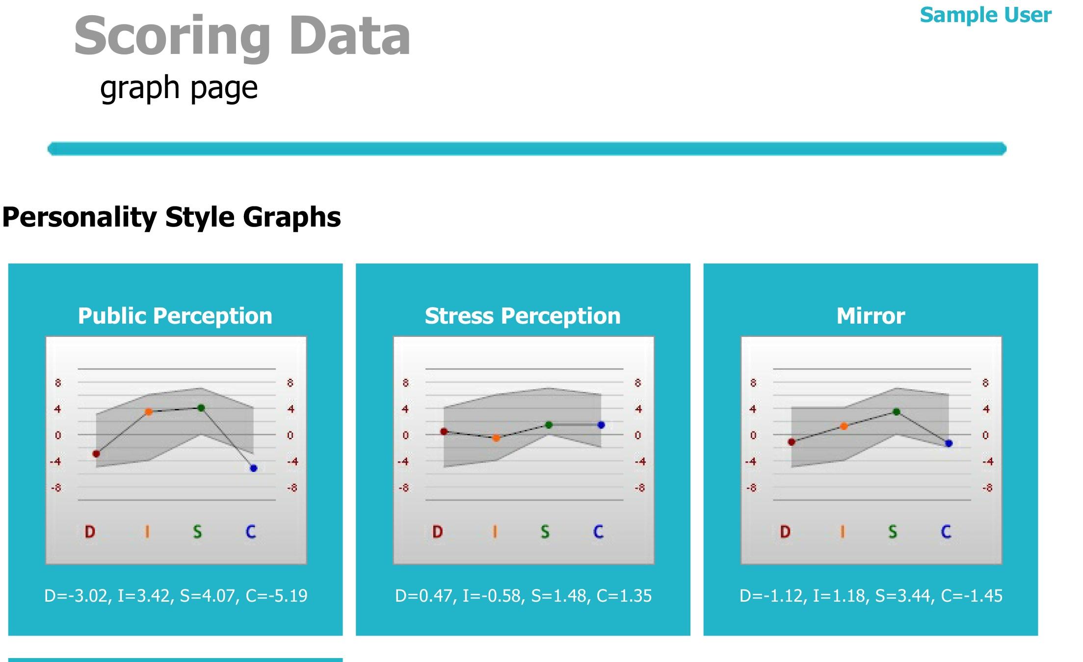 Three Graph DISC report