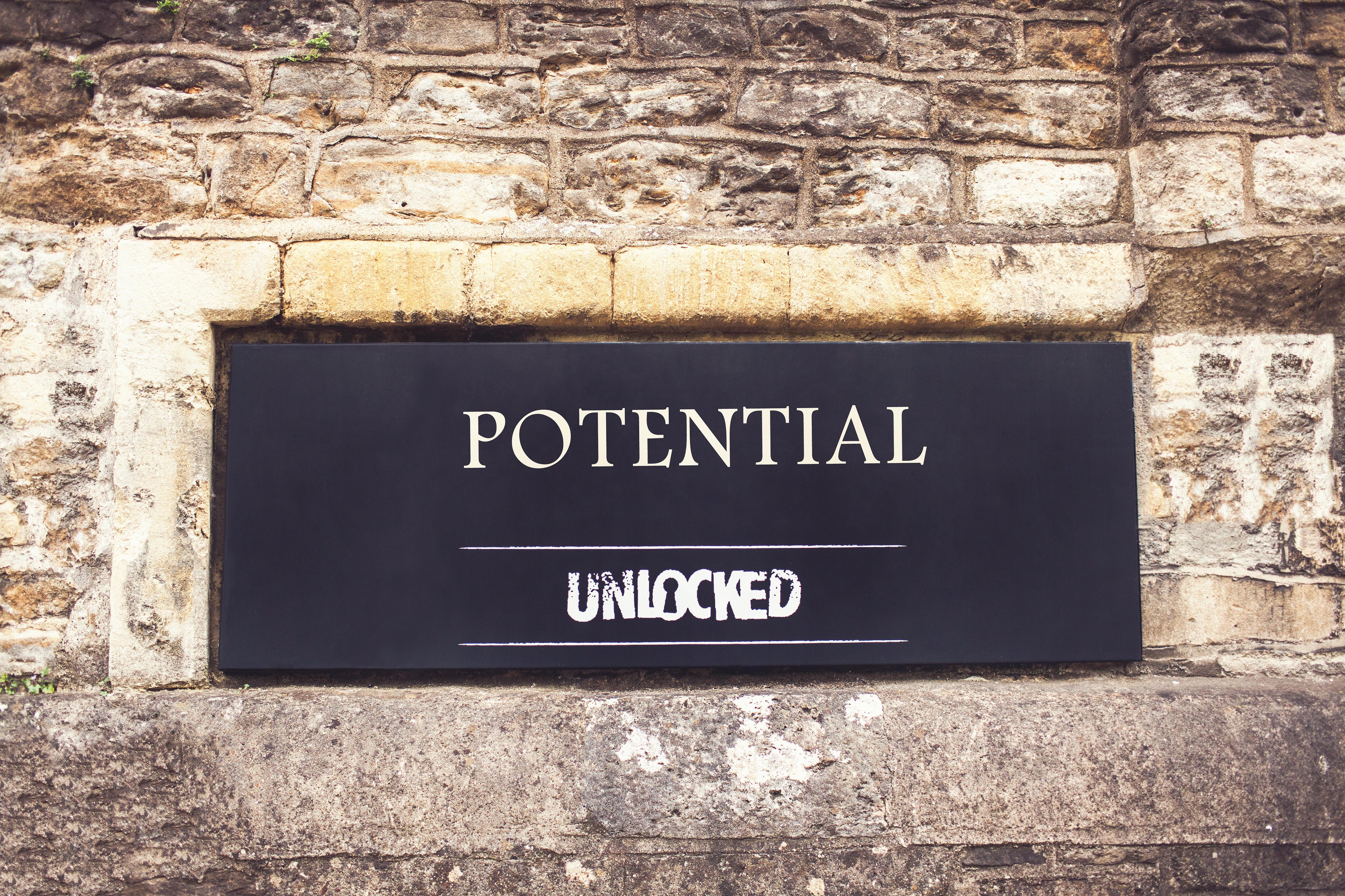 Potential unlocked