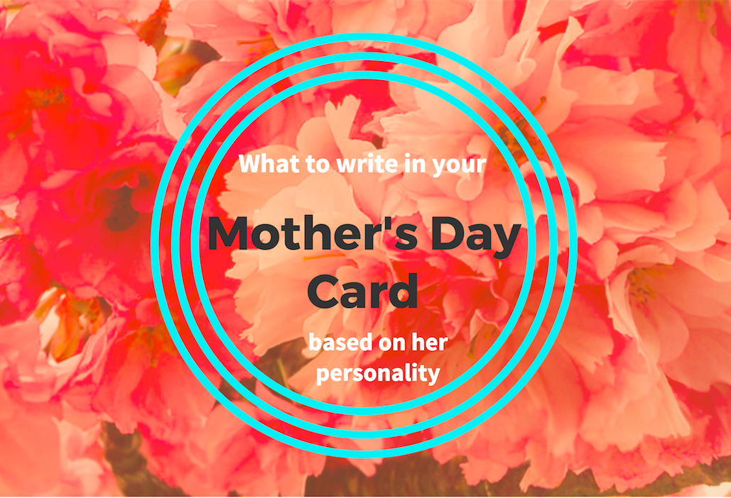 Mother's Day Card Message