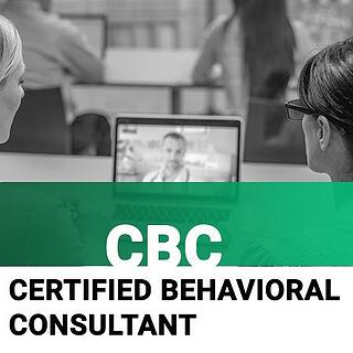 CBC - Certified Behavioral Consultant