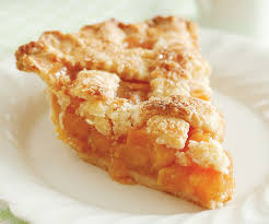 lattic peach pie