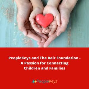 PeopleKeys and The Bair Foundation