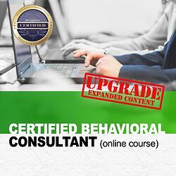 How to become a Certified Behavioral Consultant
