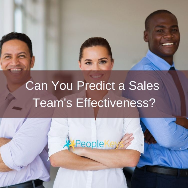 Can you predict a sales team's effectiveness?