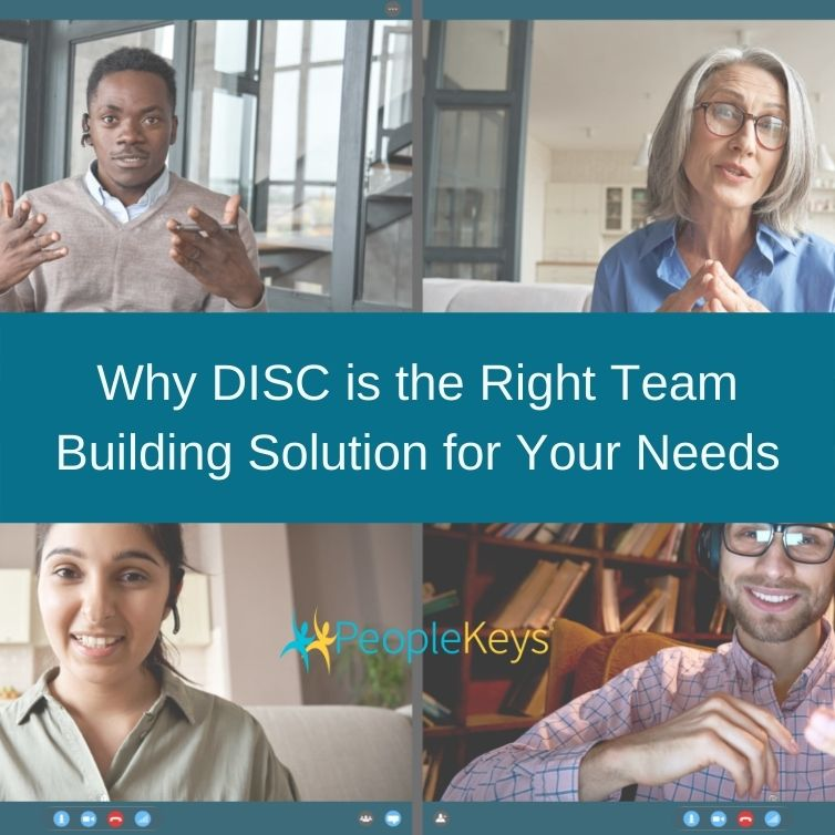 Why DISC is the right team building solution for your needs