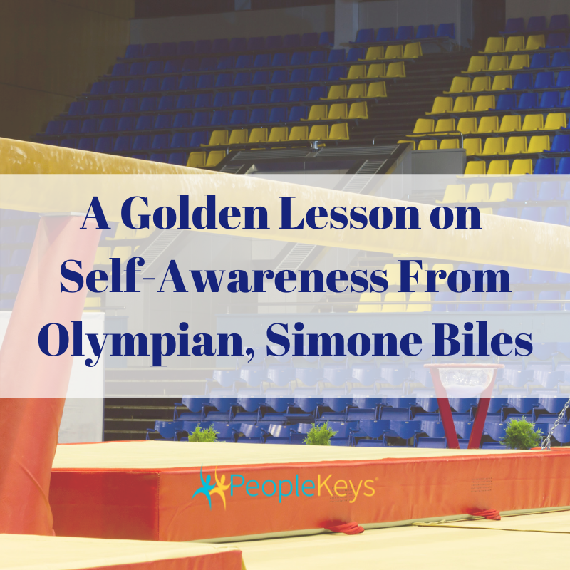 A Golden Lesson on Self-awareness From Olympian Simone Biles
